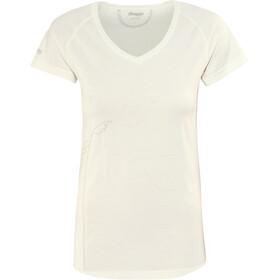 Bergans Straw T-shirt Femme, white/alu